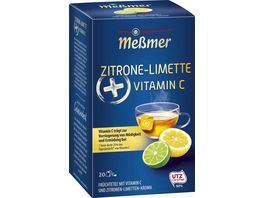 Messmer Plus Tee Zitrone Limette Vitamin C