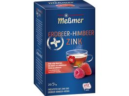 Messmer Plus Tee Erdbeer Himbeer Zink