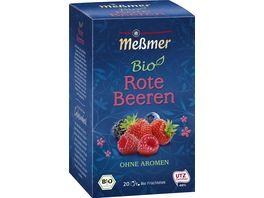 Messmer Bio Tee Rote Beeren