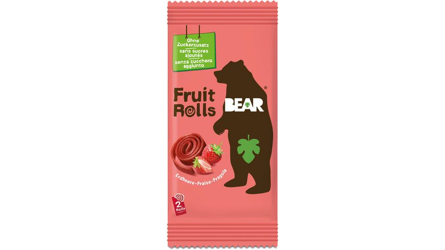BEAR Fruit Rolls Erdbeere