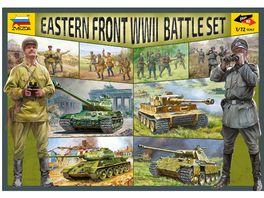 Zvezda 530005203 1 72 WWII Battle Set Ostfront