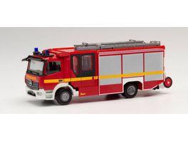 Herpa 095327 Mercedes Benz Atego 13 Ziegler Z Cab Feuerwehr