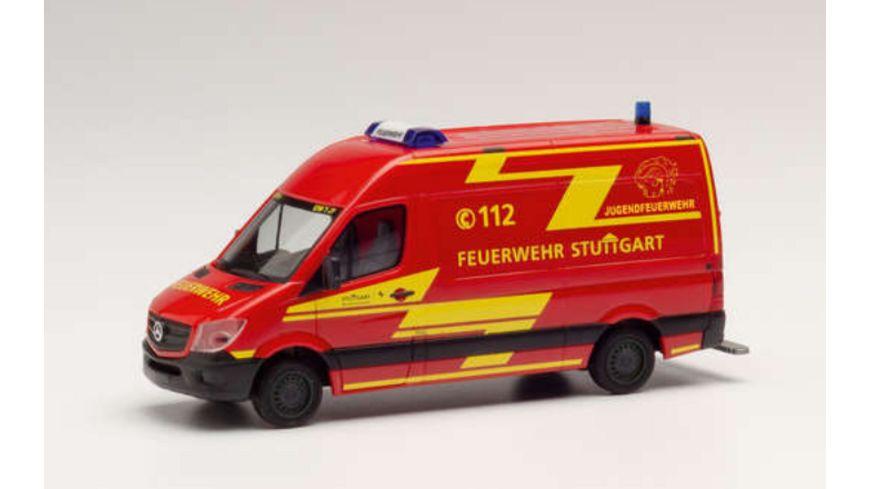 """Herpa 095457 - Mercedes-Benz Sprinter `13 Kasten HD """"Feuerwehr Stuttgart/Jugendfeuerwehr"""""""