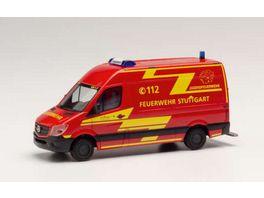Herpa 095457 Mercedes Benz Sprinter 13 Kasten HD Feuerwehr Stuttgart Jugendfeuerwehr