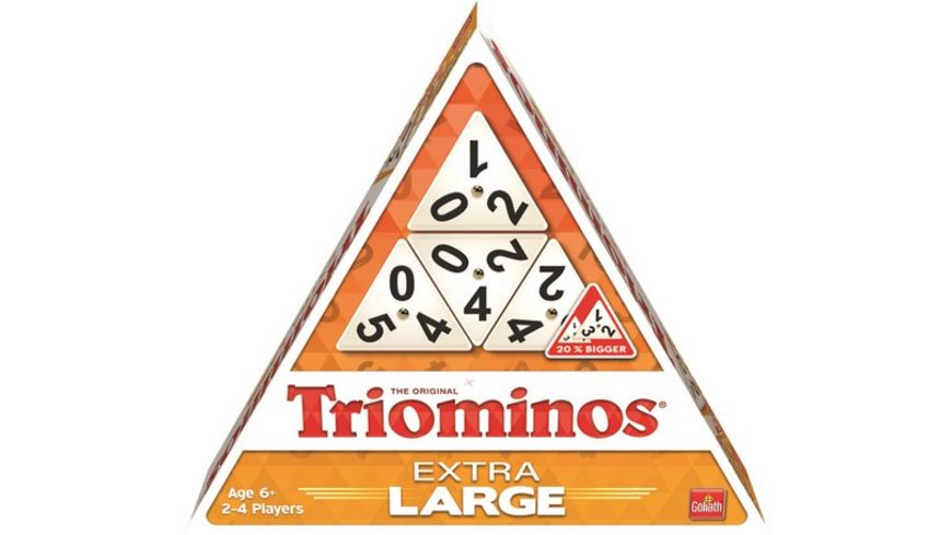 Goliath Toys - Triominos Extra Large