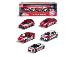 Majorette FC Bayern Muenchen 5er Geschenkset