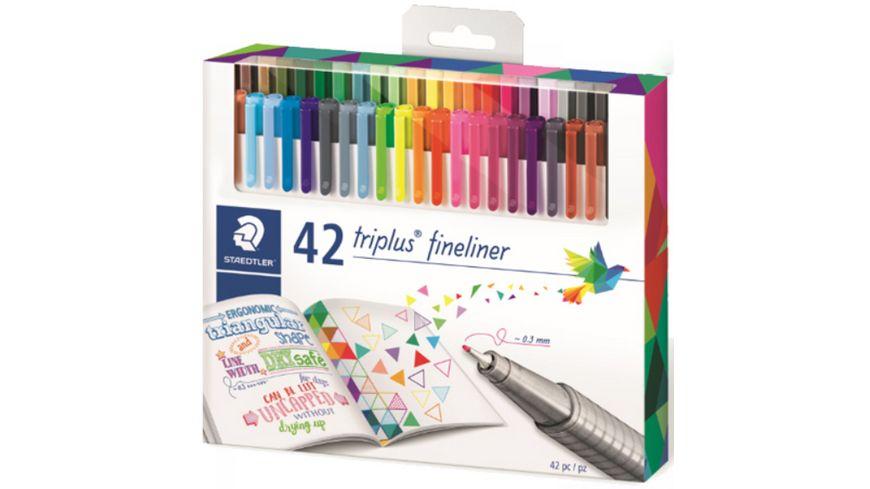 STAEDTLER® Feinschreiber triplus® Fineliner 48 Farben