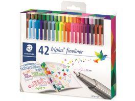 STAEDTLER Feinschreiber triplus Fineliner 48 Farben