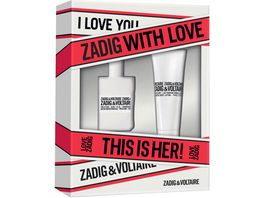 ZADIG VOLTAIRE THIS IS HER Eau de Parfum Set