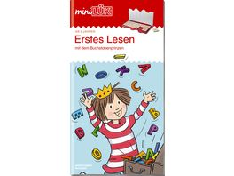 miniLUeK Uebungshefte miniLUeK Deutsch 1 Klasse Deutsch Erstes Lesen mit dem Buchstabenprinzen