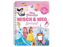 Disney Prinzessin Wisch Weg Buch mit abwischbaren Seiten und Stift