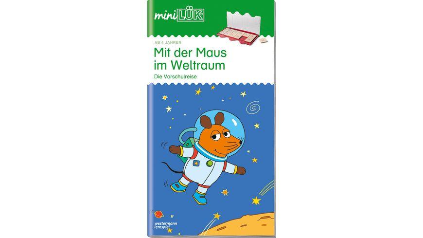 miniLÜK-Übungshefte / miniLÜK - Kindergarten / Kindergarten/Vorschule: Mit der Maus im Weltraum