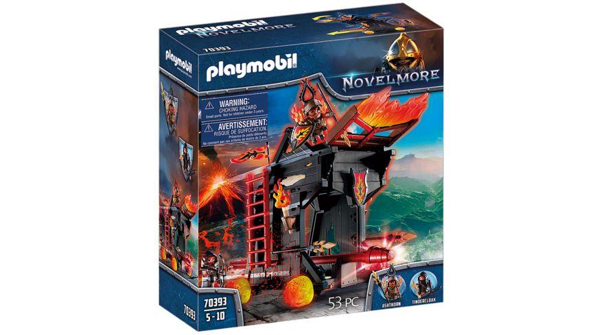 PLAYMOBIL 70393 - Novelmore - Burnham Raiders Feuerrammbock