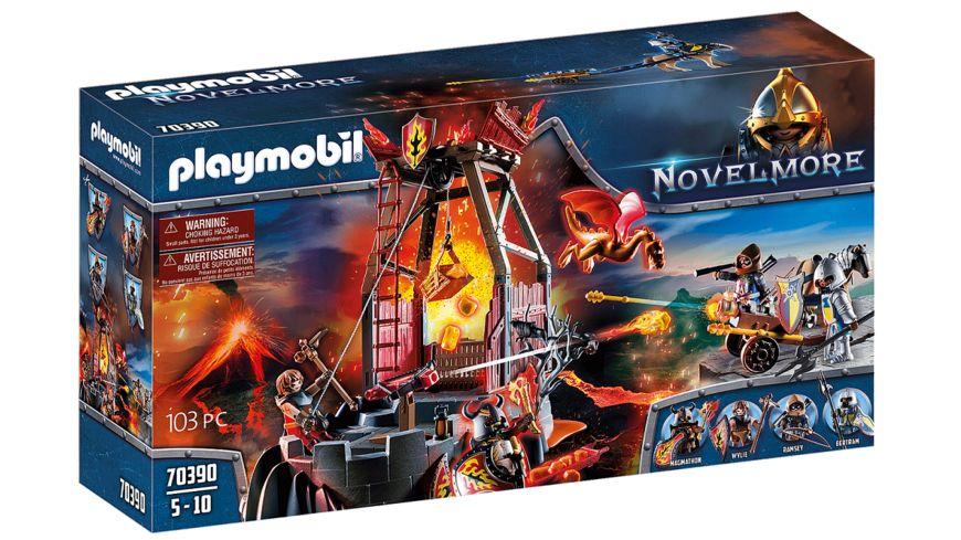 PLAYMOBIL 70390 - Novelmore - Burnham Raiders Lavamine