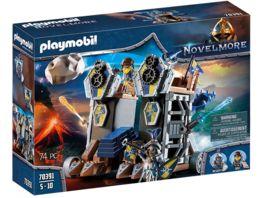 PLAYMOBIL 70391 Novelmore Novelmore Mobile Katapultfestung
