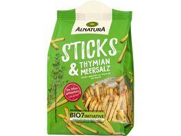 Alnatura Bio Sticks Thymian Meersalz 100G