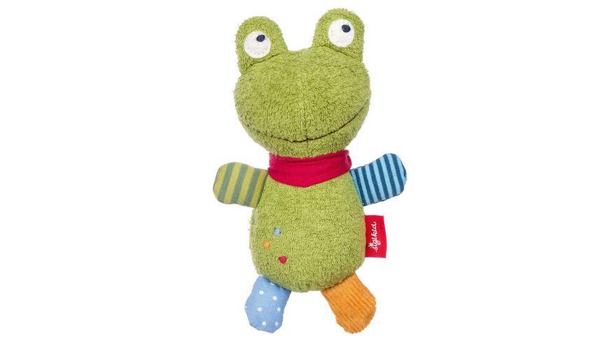 sigikid Baby Greifling Frosch Flecken Frog