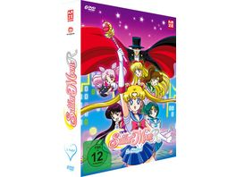 Sailor Moon Staffel 2 DVD Box Episoden 47 89 6 DVDs