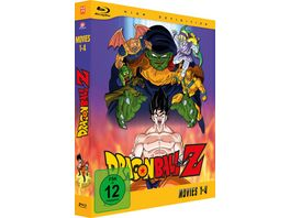 Dragonball Z Movies Box Vol 1 2 Blu rays