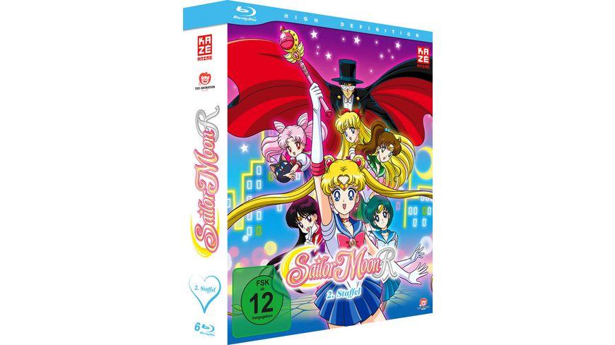 Sailor Moon Staffel 2 Blu ray Box Episoden 47 89 6 Blu rays