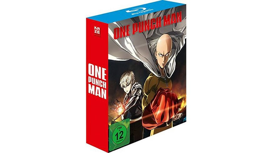 One Punch Man 1 Staffel Gesamtausgabe Blu ray Box 3 BRs
