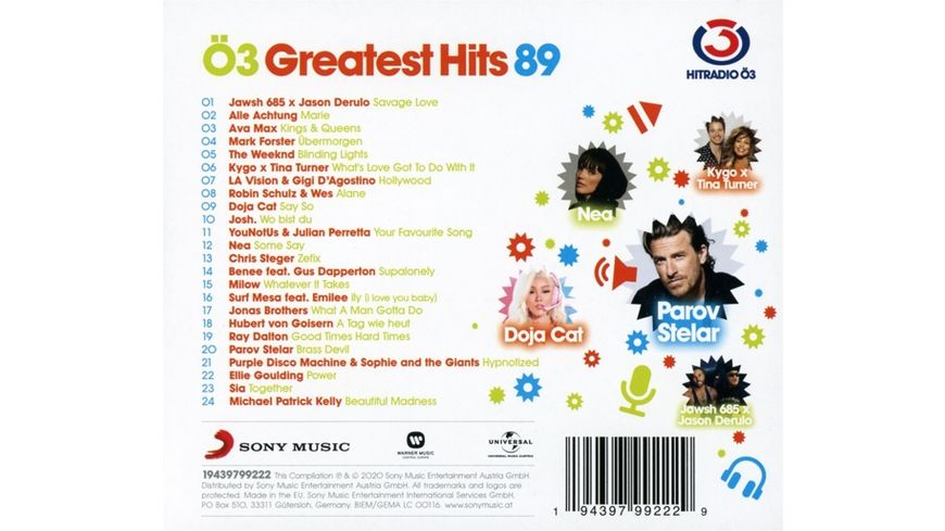 Oe3 Greatest Hits Vol 89