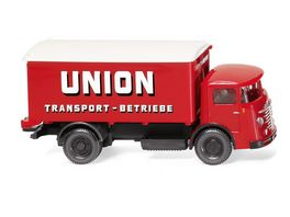 WIKING 047603 1 87 Koffer Lkw Buessing 4500 Union Transport