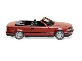 WIKING 019401 1 87 BMW 325i Cabrio weinrot met