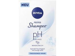 NIVEA festes Shampoo pH Balance tro ckenes Haar 75g