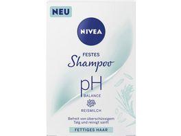 NIVEA festes Shampoo pH Balance fet tiges Haar 75g