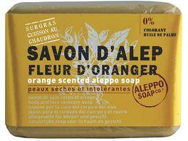 Tade Aleppo Olivenseife Orangenbluetenduft