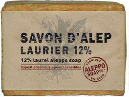 Tade Aleppo Olivenseife mit 12 Lorbeeranteil