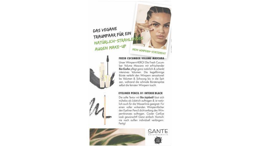 SANTE Geschenkset Cucumber Mascara Eyeliner Pencil