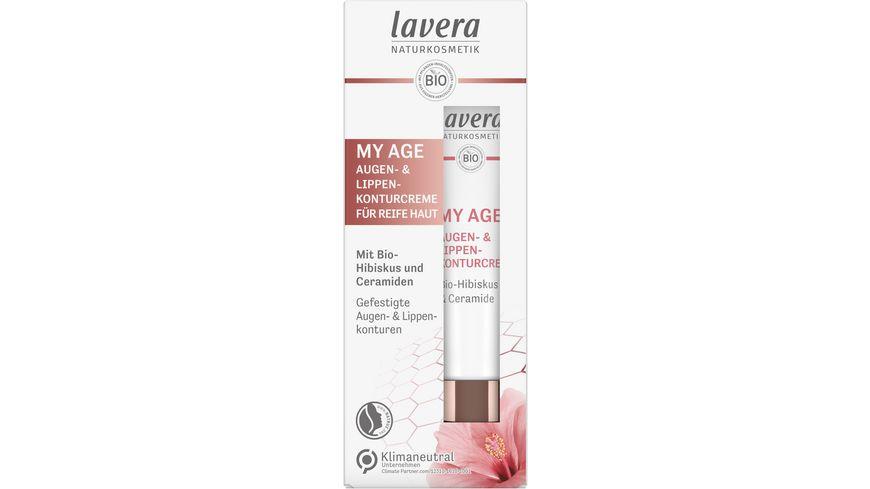 lavera My Age Augen und Lippenkonturencreme