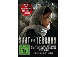 Saat des Terrors inkl Doku Spur des Terrors 2 DVDs