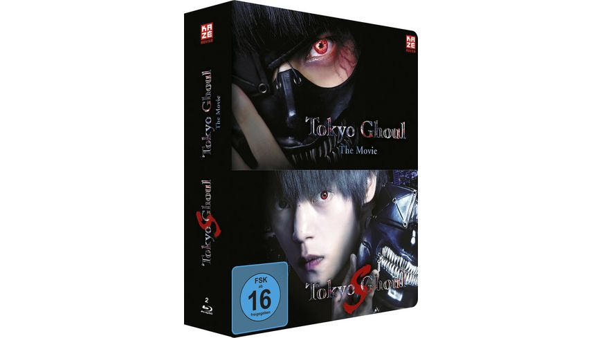 Tokyo Ghoul The Movie 1 2 Steelcase Collection Limited Edition