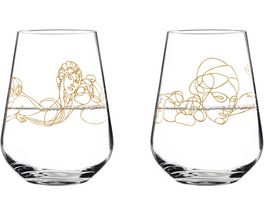 RITZENHOFF Wasserglas von Burkhard Neie 2er Set