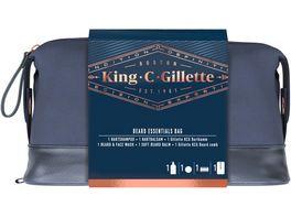 King C Gillette Geschenkset fuer Bart und Gesicht
