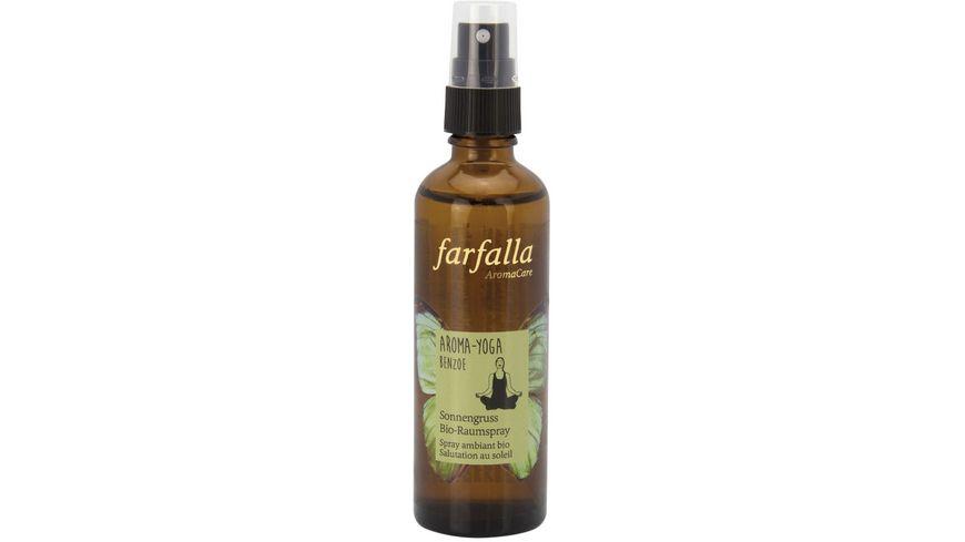 Farfalla Aroma-YogaBenzoeSonnengrussBio-Raumspray