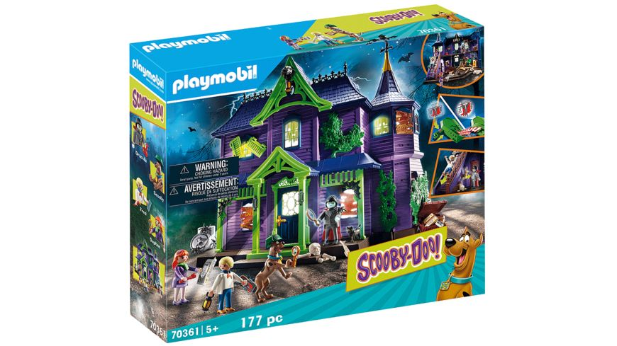 PLAYMOBIL 70361 - SCOOBY-DOO! - Abenteuer im Geisterhaus