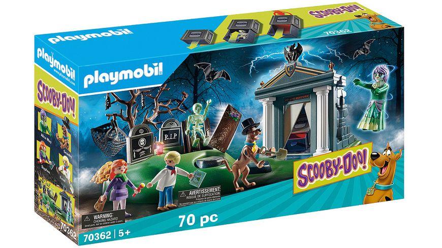 PLAYMOBIL 70362 - SCOOBY-DOO! - Abenteuer auf dem Friedhof