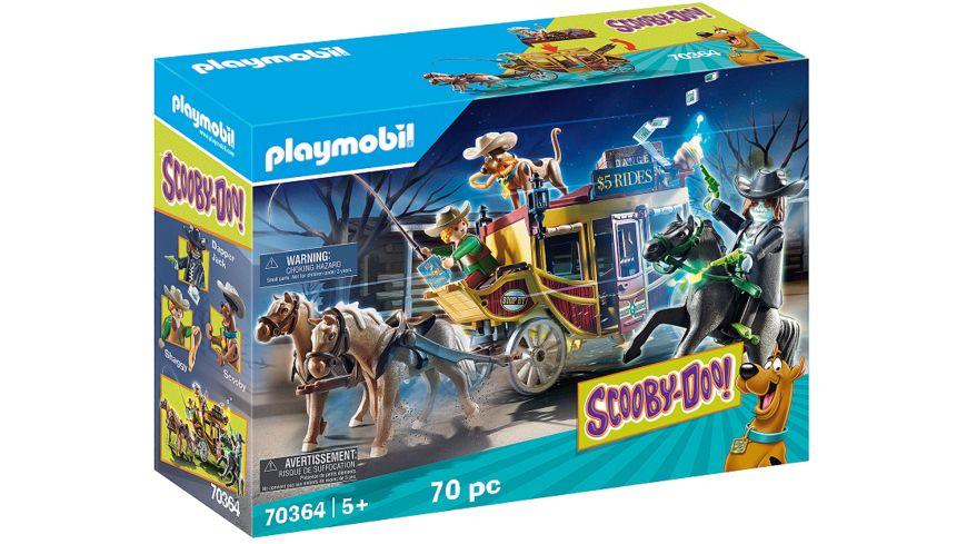 PLAYMOBIL 70364 - SCOOBY-DOO! - Abenteuer im Wilden Westen