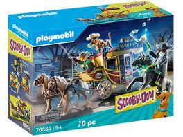 PLAYMOBIL 70364 SCOOBY DOO Abenteuer im Wilden Westen