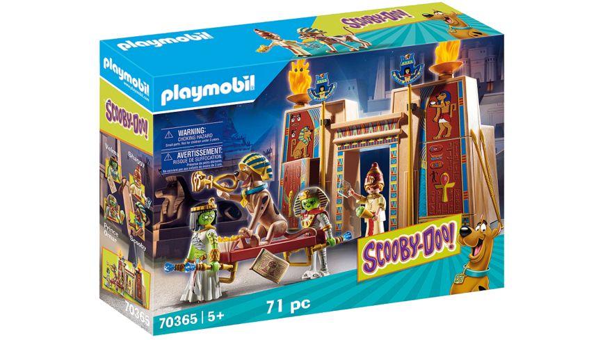 PLAYMOBIL 70365 - SCOOBY-DOO! - Abenteuer in Ägypten