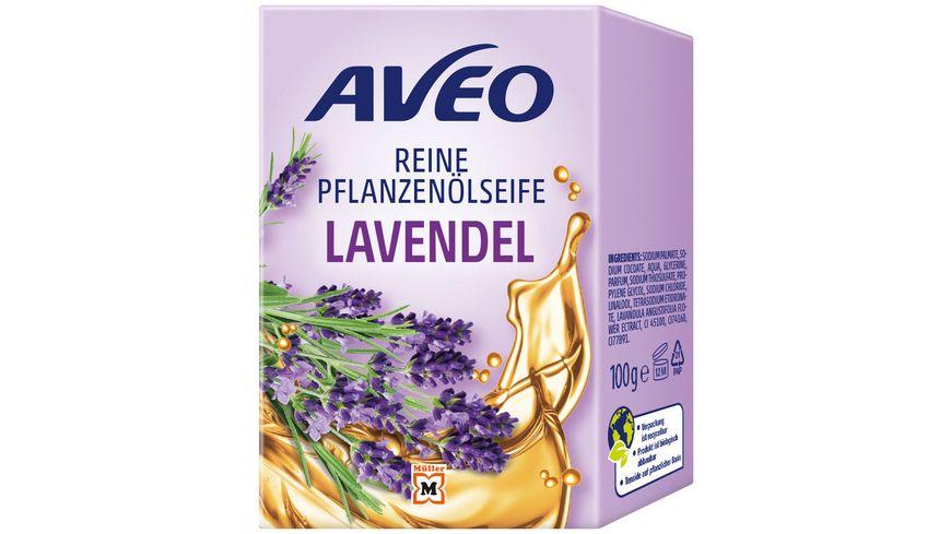 AVEO Pflanzenoelseife Lavendel