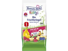 Beauty Baby Bio Fruechteriegel Banane Himbeere