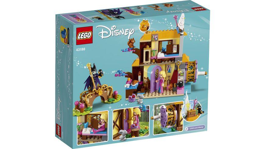 LEGO Disney Princess 43188 Auroras Huette im Wald