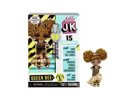 L O L SURPRISE J K Mini Fashion Doll Queen Bee mit 15 Ueberraschungen