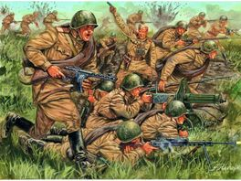 Italeri 510006057 1 72 WW2 Russische Infanterie