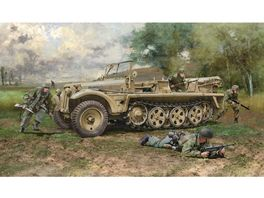 Italeri 510006561 1 35 Sd Kfz 10 Demag D7 w German Paratr